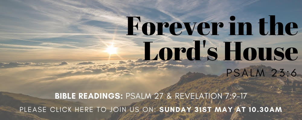 Sunday Service 31st May 2020