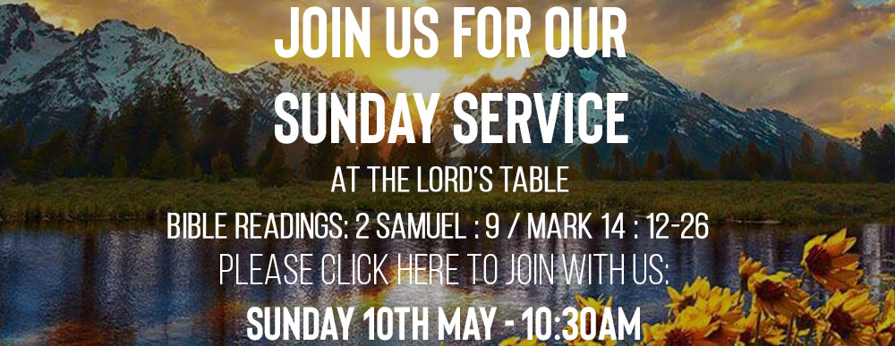 Sunday Service 10th May 2020