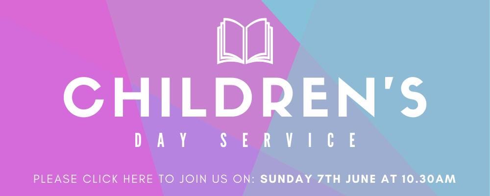 Sunday Service 7th June 2020