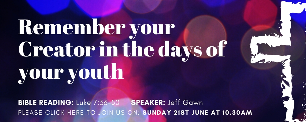 Sunday Service 21st June 2020