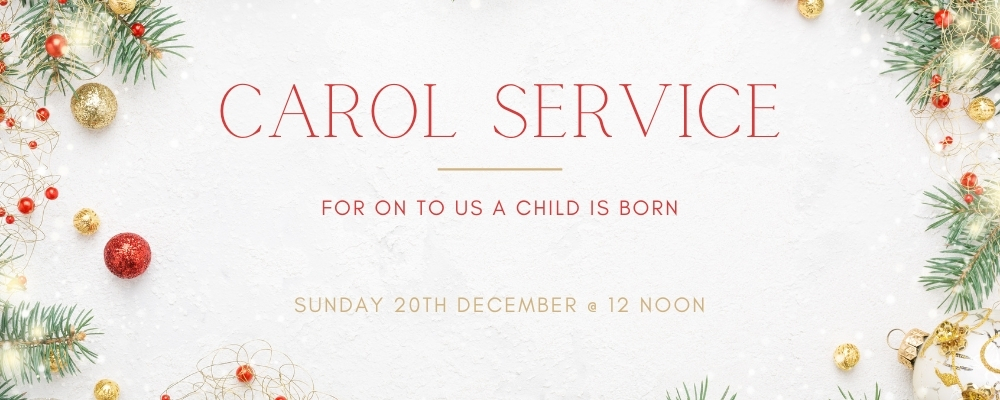Sunday Service 20th December 2020